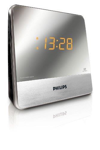 Philips Aj3231 05 Clock Radio Mirror Finish Display Deal