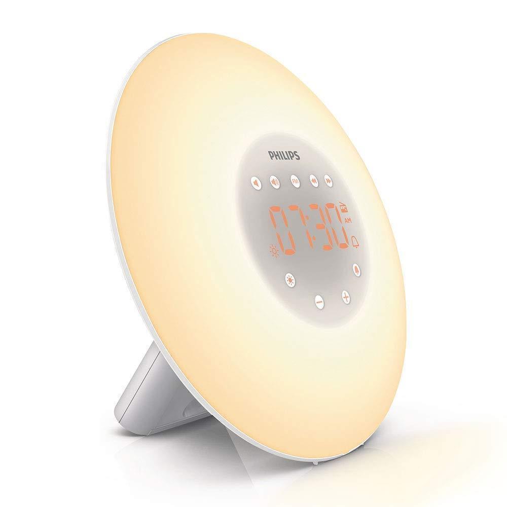 philips wake up light alarm clock deal mania uk. Black Bedroom Furniture Sets. Home Design Ideas