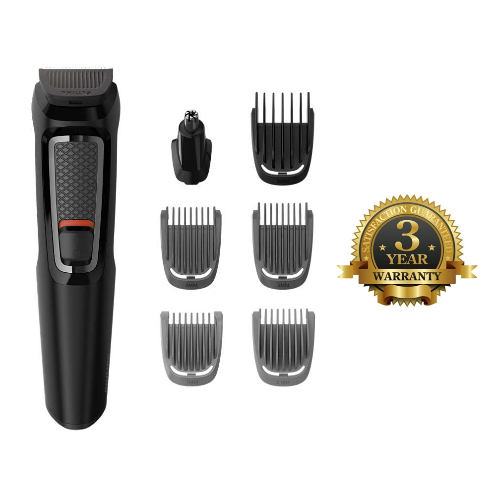 Philips MG3720 13 Multigroom Series 3000 7-In-1 Body Face Clipper ... a277f34206