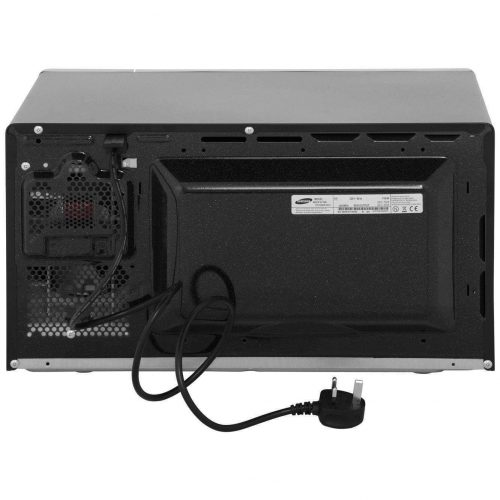 Samsung MS23F301TAK/EU Solo Microwave, 18/10 Steel, 800 W, 23 liters, Black