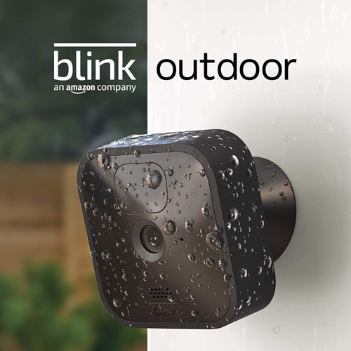 Pic 2 - Blink Outdoor, Wireless, weather-resistant HD security camera , 3 Camera System - Black - Deal Mania