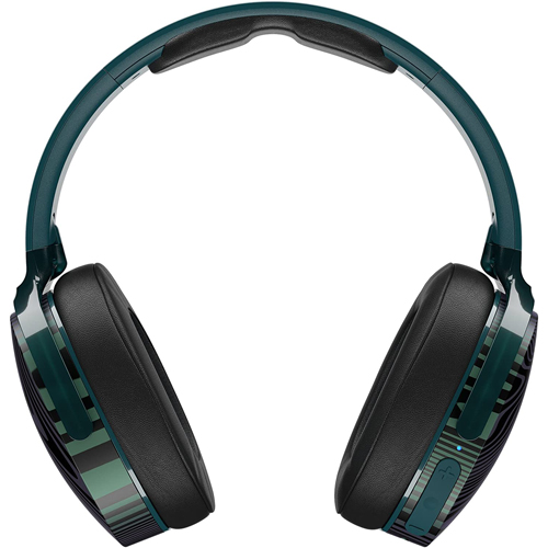 Skullcandy Hesh 3 Bluetooth Wireless Over-Ear Headphones with Microphone - Psycho Tropical - Deal Mania